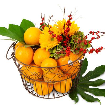과일꽃바구니 R03