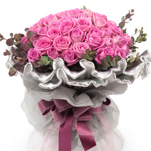 핑크장미꽃다발 38C