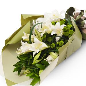 백합소국꽃다발 12C